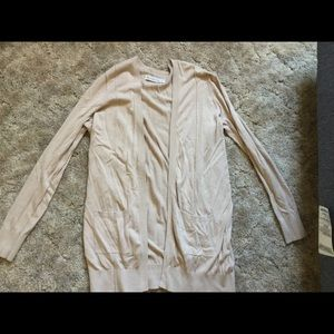 Abercrombie and Fitch cream cardigan
